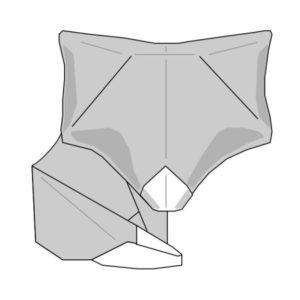 Bett strichzeichnung  Keep Folding On